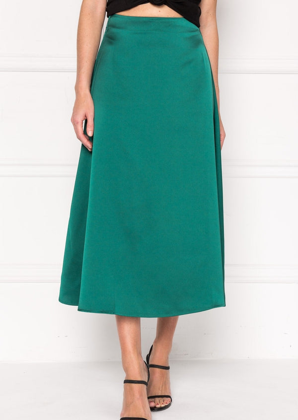 Izella Midi Skirt - house of lolo
