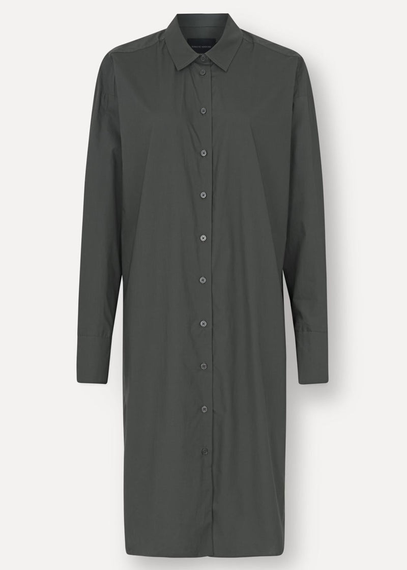 Nilly Shirt Dress - Dark Army - house of lolo