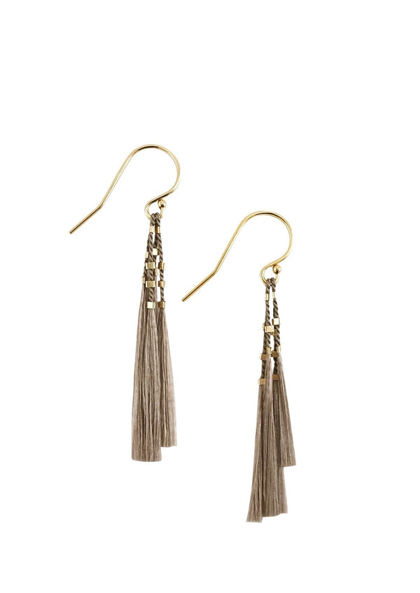 Kiki Earrings - Grey - house of lolo