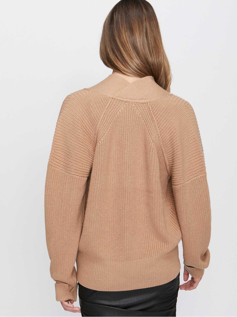 Gene Vee Sweater - Camel - house of lolo