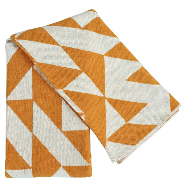 Scattered Sunny Recycled Cotton Throw