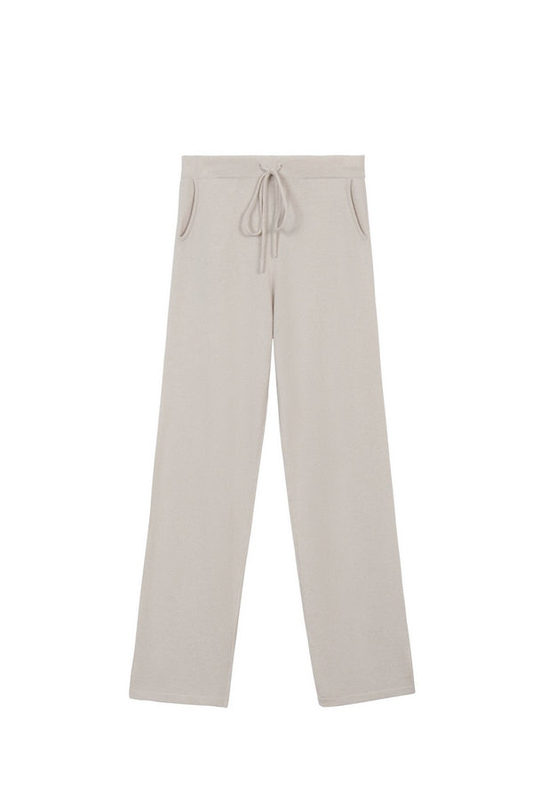 Cashmere Bailey Pants - Fog - house of lolo