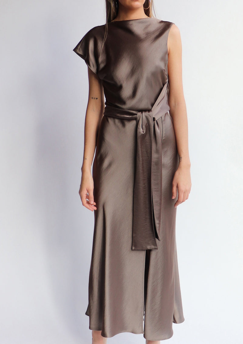 Piper Asym Midi Dress - house of lolo
