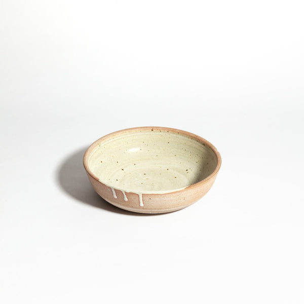 Stoneware Shallow Bowl - house of lolo