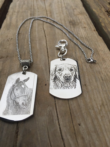 Dog Tag Pendants