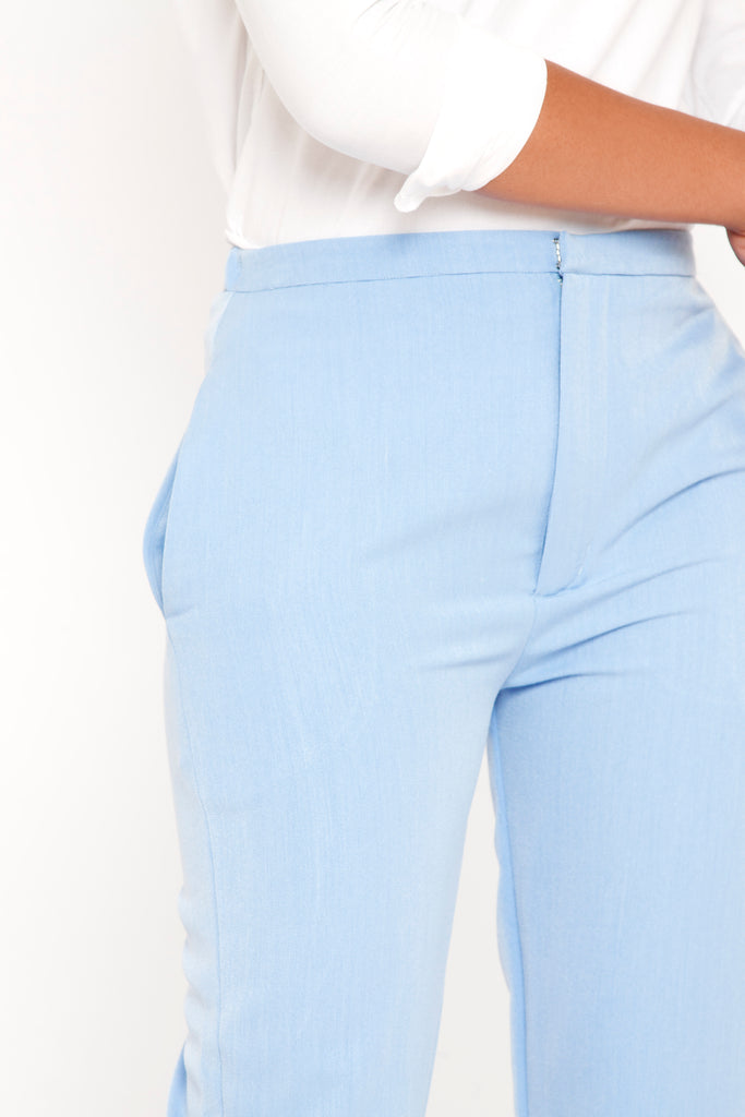 Tapered Pant With Elastic Waistband