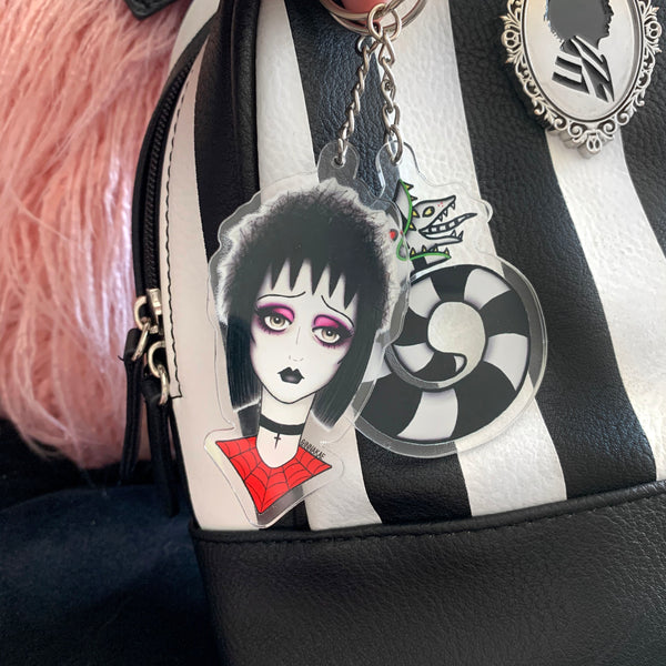 Beetlejuice Key Chains