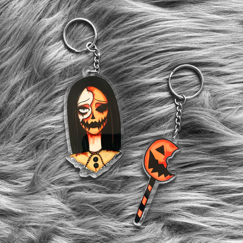 Trick 'r Treat Key Chain Set