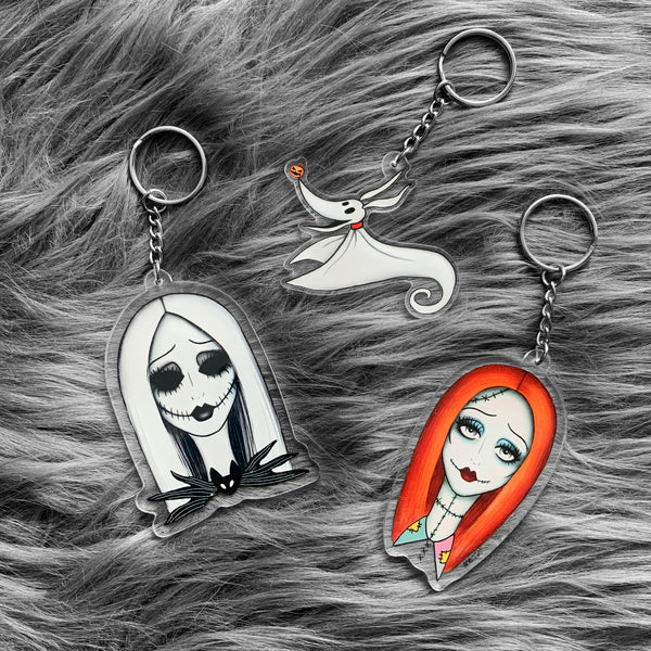 Nightmare Before Christmas Key Chains