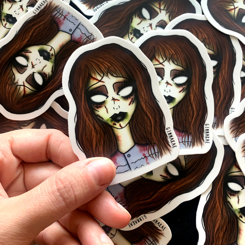 Regan (The Exorcist) Print + Sticker