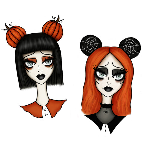 Disney Ghouls Prints