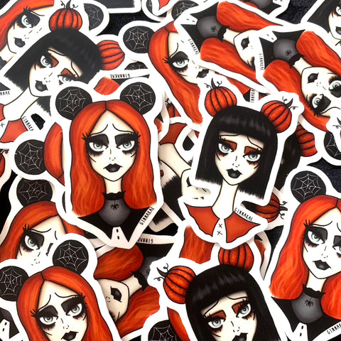 Disney Ghouls Stickers