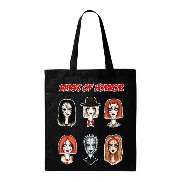 Babes of Horror Tote Bag