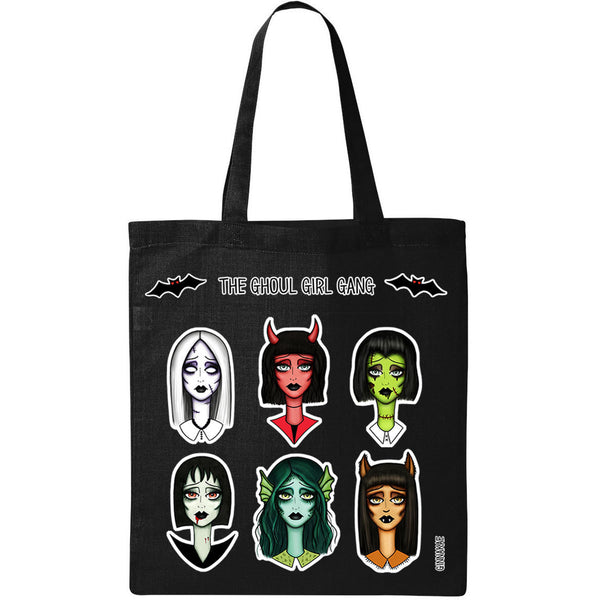 Ghoul Girl Gang Tote Bag