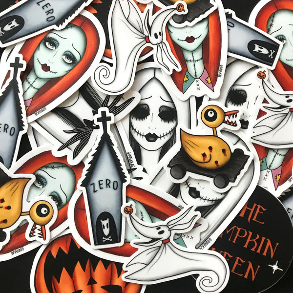 Nightmare Before Christmas Sticker Pack