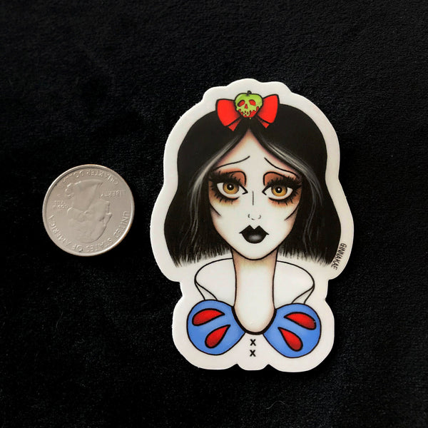 Snow White Print + Sticker