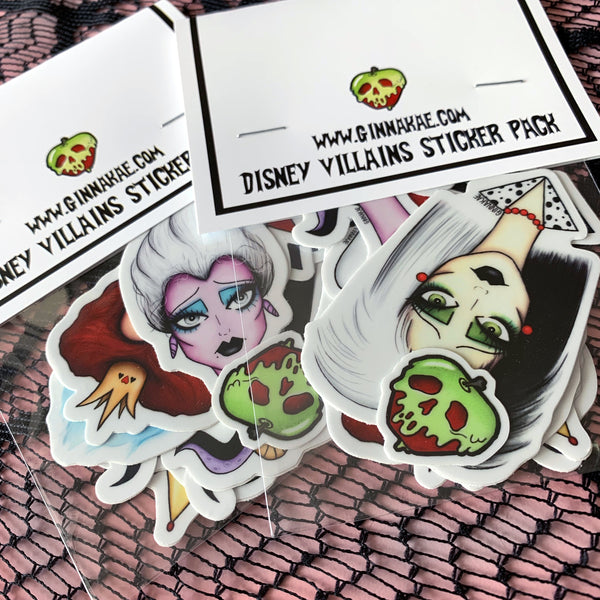 Disney Villains Sticker Pack