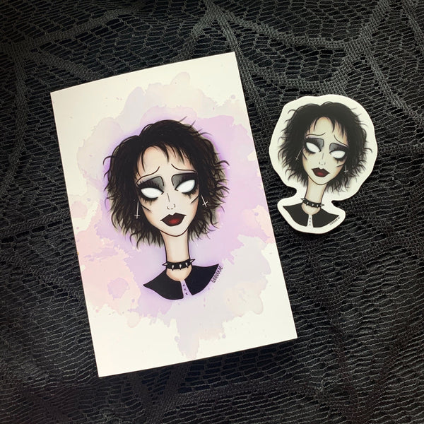 Nancy Downs (The Craft) Print + Sticker