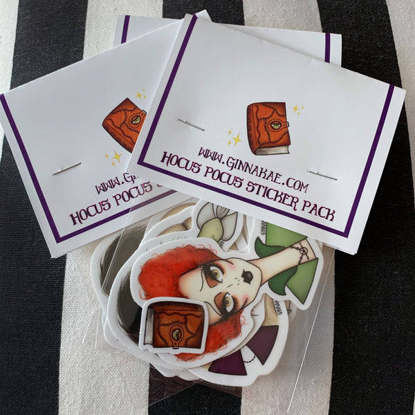 Hocus Pocus Sticker Pack