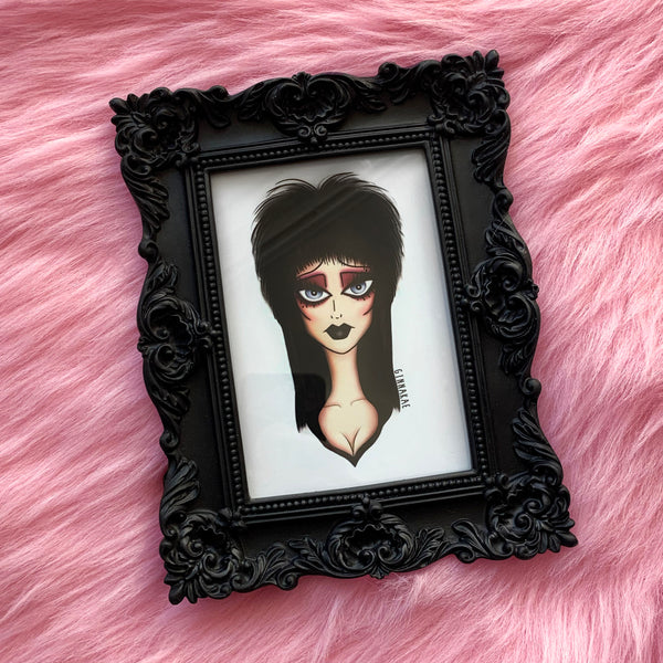 Elvira Print + Sticker