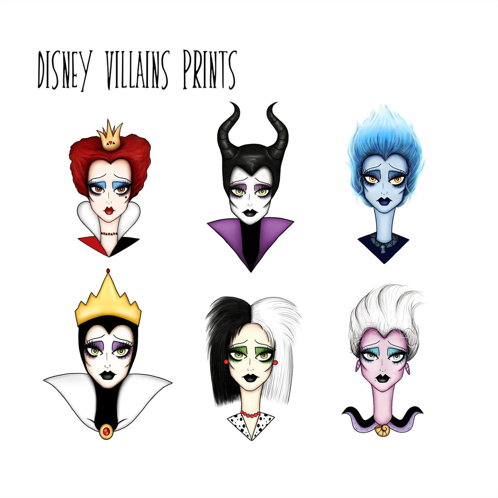Disney Villains Prints