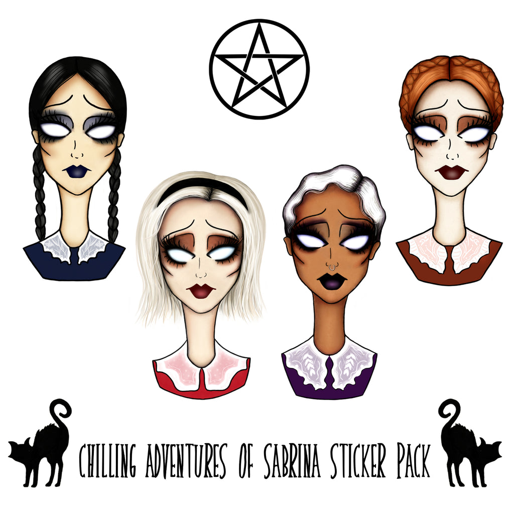 Chilling Adventures of Sabrina Sticker Pack