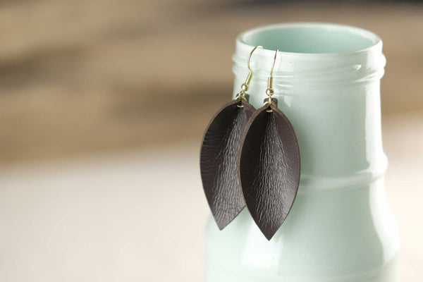 Seanna Leather Earrings