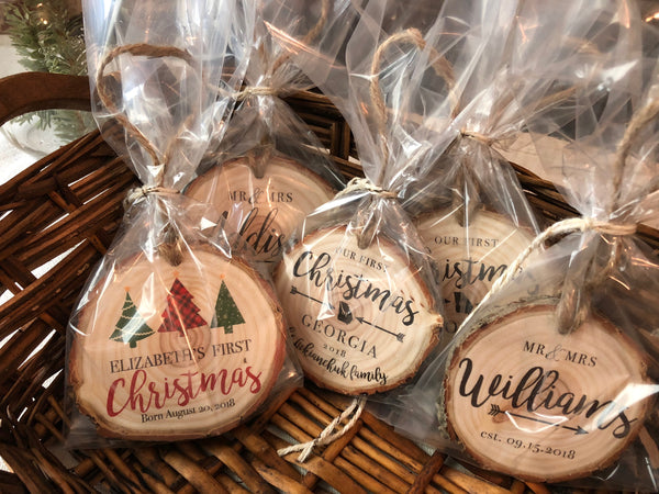 PREORDER || Personalized Christmas Ornaments