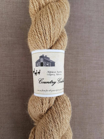 200 2 Ply Fawn Alpaca Yarn (90% Alpaca/10% Silk) - Country Gables Ltd (alpaca farm)