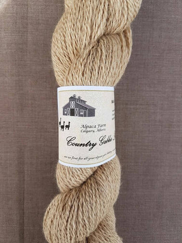 202 2 Ply Fawn Alpaca Yarn (100% Alpaca) - Country Gables Ltd