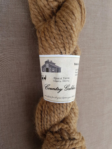 230 Double Lopi Brown Alpaca Yarn (80% Alpaca/20% Merino) - Country Gables Ltd (alpaca farm)