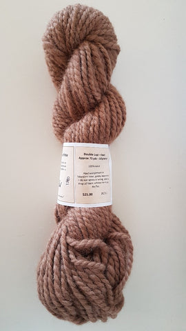 231 Double Lopi Fawn Alpaca Yarn (100%) - Country Gables Ltd (alpaca farm)