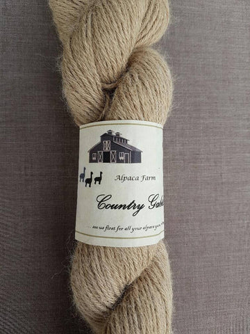 02 4 Ply Fawn Alpaca Yarn (100%) - Country Gables Ltd (alpaca farm)
