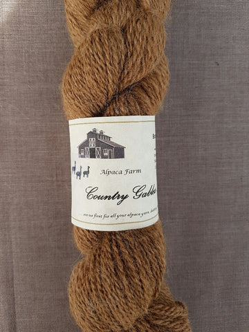 32 2 Ply Brown Alpaca Yarn (100%) - Country Gables Ltd (alpaca farm)