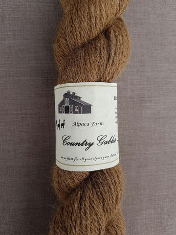 006 3 Ply Chocolate Brown Alpaca Yarn (100%) - Country Gables Ltd