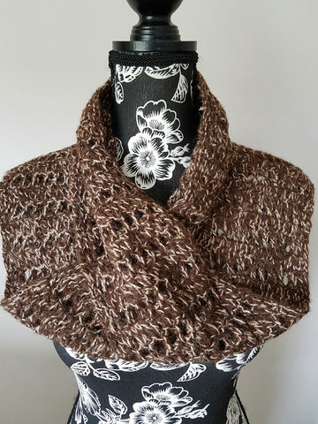 70 Infinity Scarf Dark Brown