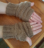 FG40 Fingerless Alpaca Gloves - Country Gables Ltd (alpaca farm)