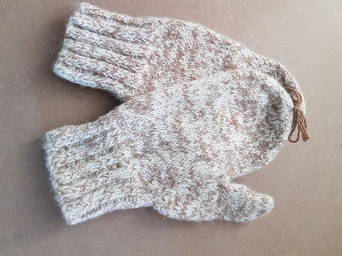 MXL50 Alpaca Mittens X-Large - Country Gables Ltd