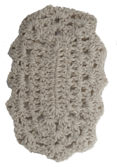 78 Washcloth Oval - Country Gables Ltd (alpaca farm)