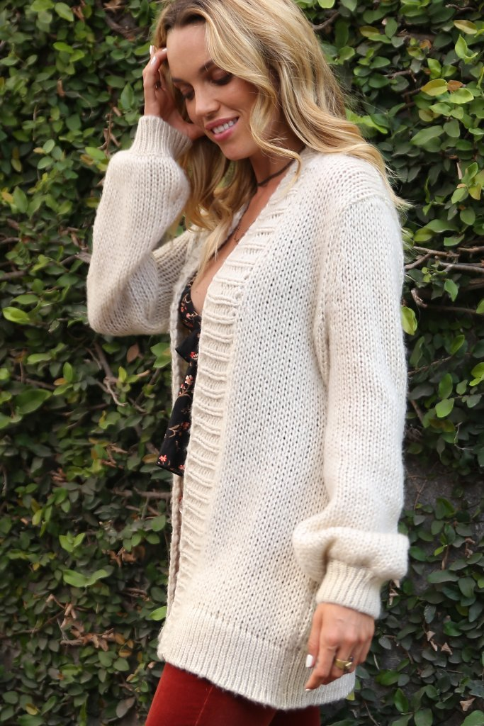 Women's Angie Oversized Cardi Sweater's | Wooden Ships Knits