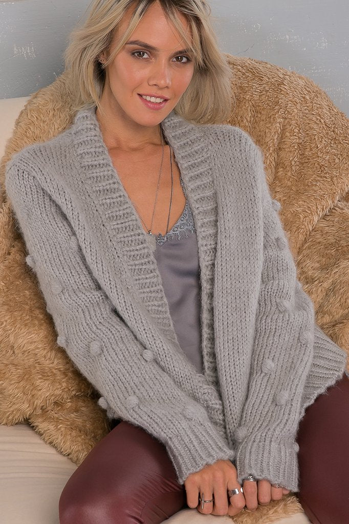 Women's Snowballs Cardi  Sweater's | Wooden Ships Knits