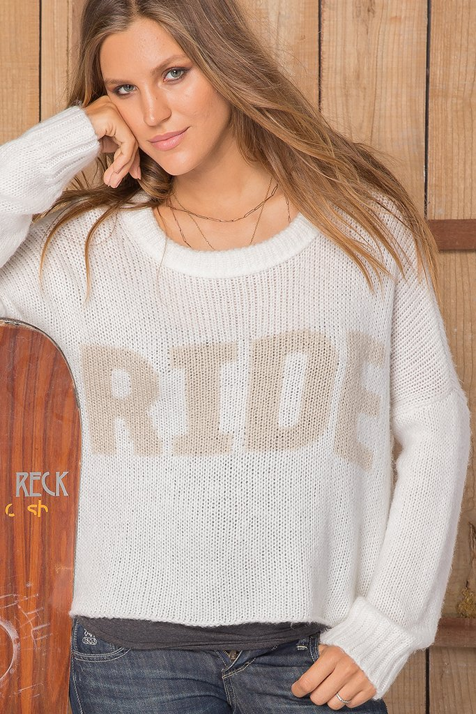 Women's Ride Slouchy Pullover Sweater's | Wooden Ships Knits
