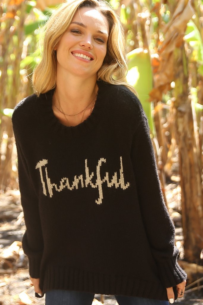 Women's Thankful Crew Chunky Sweater's | Wooden Ships Knits