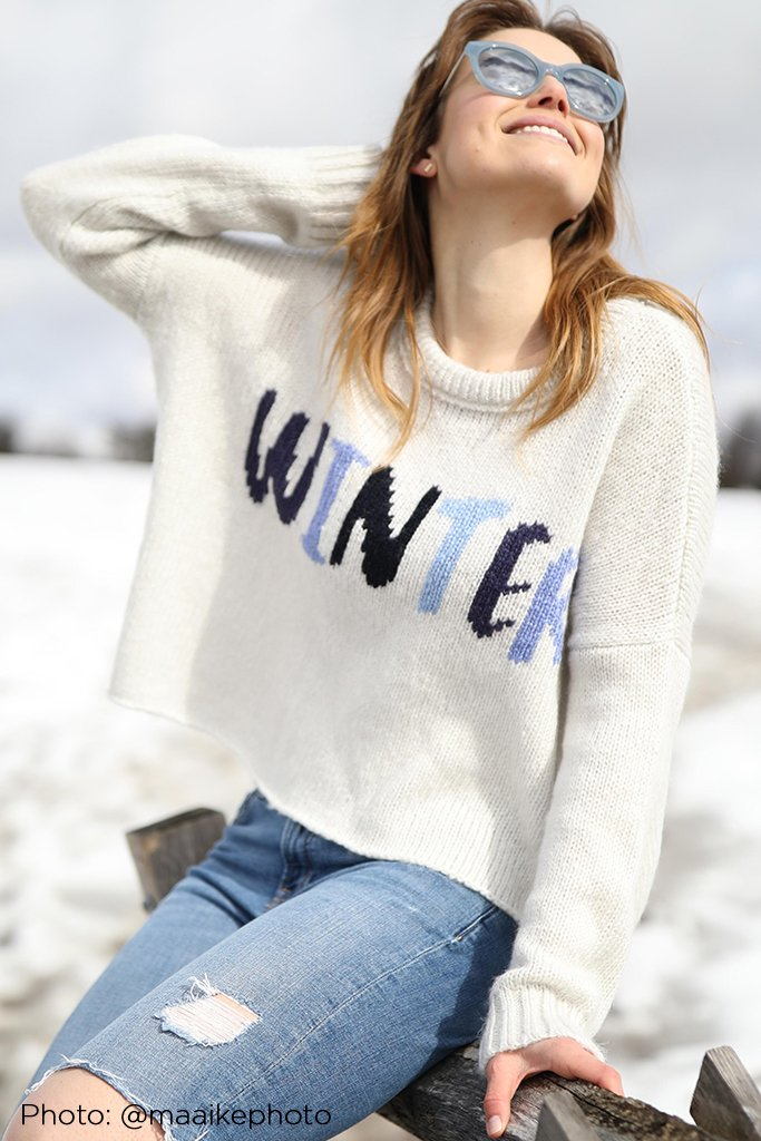 Women's Winter Pullover Sweater's | Wooden Ships Knits