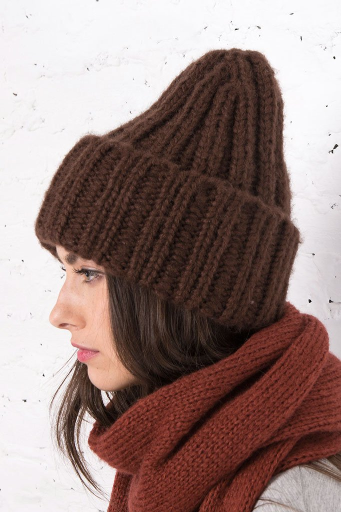 Women's Katie Solid Cuff Hat | Wooden Ships Knits