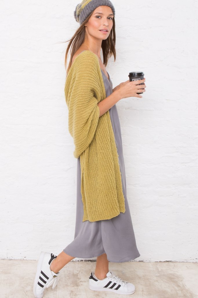 Women's Chelsea Blanket Wrap Sweater's | Wooden Ships Knits