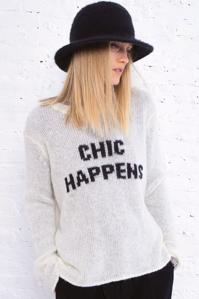 Women's Chic Happens Sweater's | Wooden Ships Knits