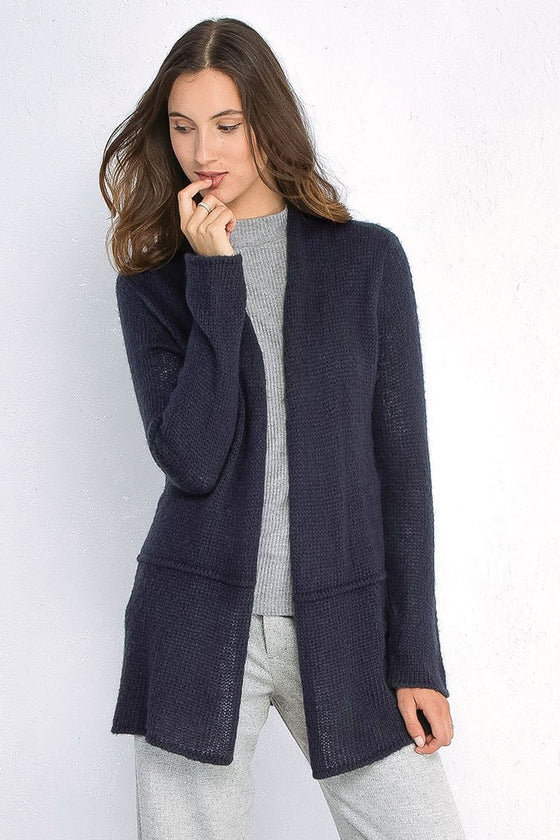 Women's Seamed Cardigan Sweater | Wooden Ships Knits