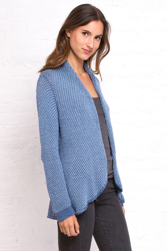 Women's Dylan Blazer Cotton Cardigan | Wooden Ships Knits