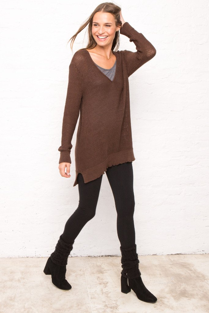 REVERSIBLE REAGAN TUNIC COTTON